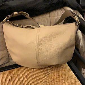 Coach Pebble Leather Hobo Shoulder Bag
